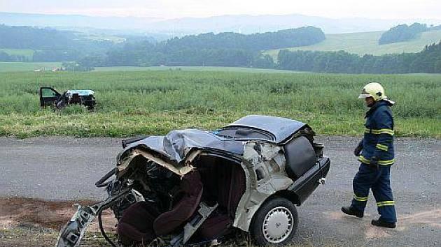 Tragická havárie u Valašského Meziříčí