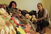 Stále rostoucí hromada plyšových hraček zabírá část chodby ve služebně valašskomeziříčské městské policie. Nosí je tam lidé, kteří si zejména na sociálních sítích přečetli zprávu o jejich dobročinné sbírce.