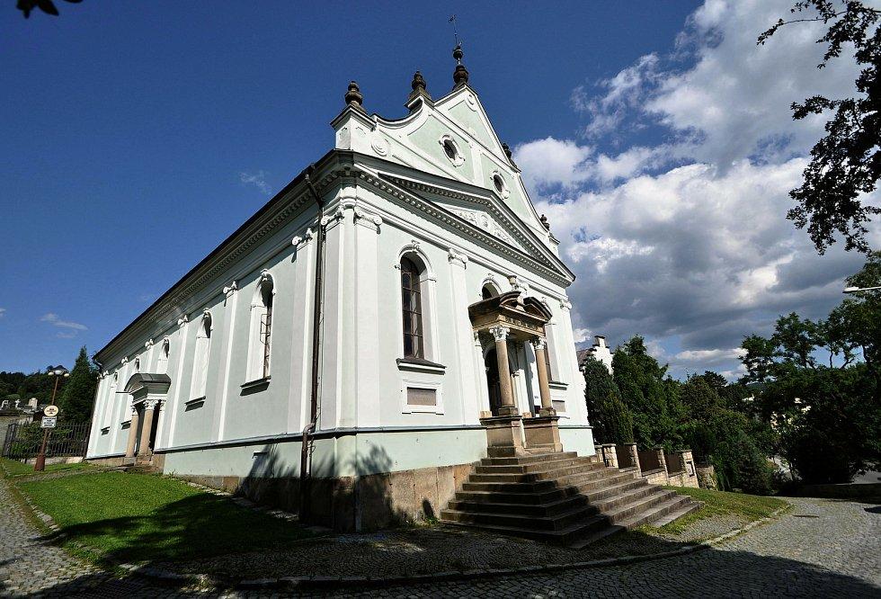 Vsetín - kostel Horního sboru Českobratrské církve evangelické