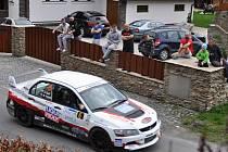 Rychlostní zkouška Přehrada na Bystřičce byla závěrečnou částí Rocksteel – 35. Valašské Rally 2016. Sobota 16. dubna 2016