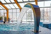 Termální bazén v hotelu Horal