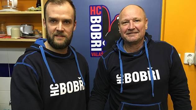 Hokejisté druholigového Valašského Meziříčí mají nového kouče. Bobry po Jiřím Weintrittovi přebírá Josef Doboš (vpravo).