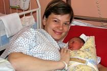 Prvním meziříčským miminkem roku 2015 je Vít Gajdoš. Narodil se mamince Janě.