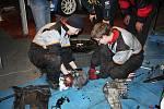 Mechanici po výměně turba