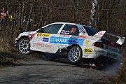 Valašská rally 2018 - 1. etapa  Shakedown, RZ 1 Fulnek, RZ 3 Lešná, RZ 6 Lešná
