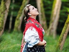 Marta Santovjáková Gerlíková vydává nové CD Valašská cérka.