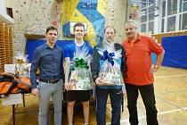 Vánoční turnaj ve stolním tenise v Rožnově pod Radhoštěm