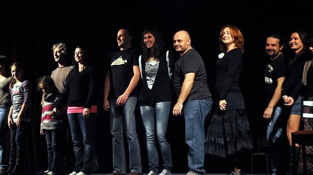 Herci Divadla v Lidovém domě. Ilustrační foto.