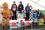 Pátý ročník BobCrossu - Mistrovství Československa v jízdě na dětských plastových bobech ve Ski areálu Karolinka.