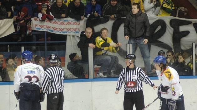 Hokej Valašské Meziříčí - Vsetín.