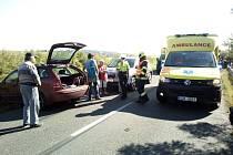 V Loučce havarovaly čtyři auta