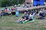 Areál letního kina u přehrady Bystřička ožil první červencový svátek hudbou. Konal se tady první ročník world music festivalu s názvem Andělská Bystřička.