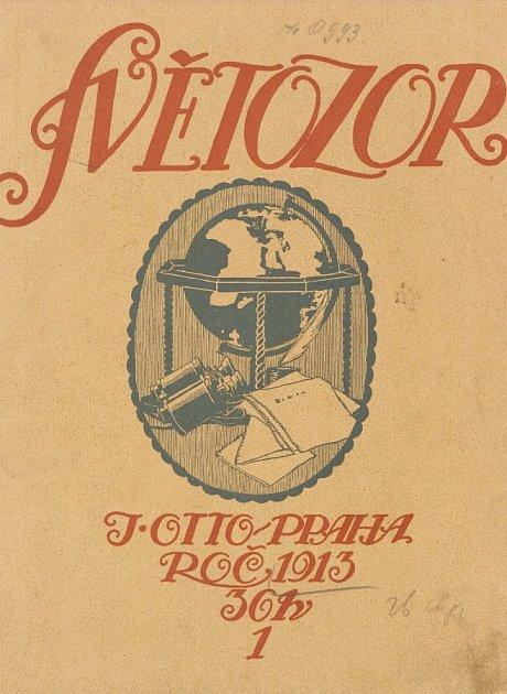 Obálky českých časopisů, (1910 - 1913).