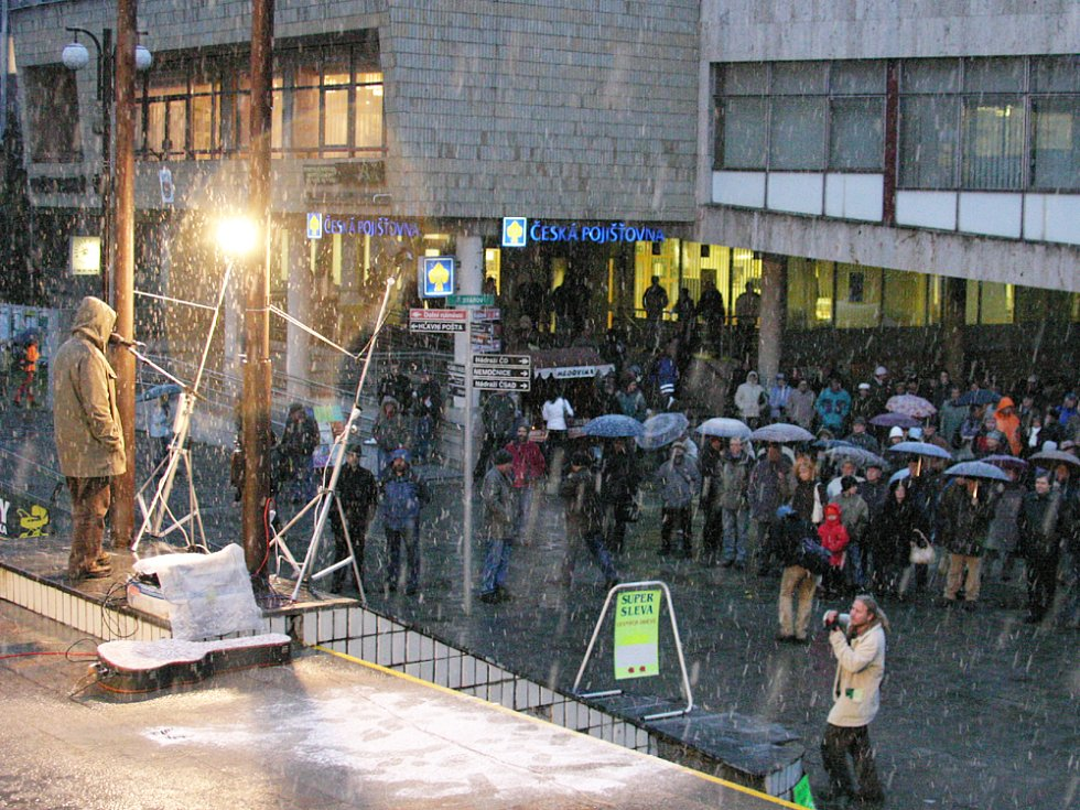 Demonstrace ve Vsetíně