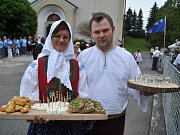 Komisaři soutěže Vesnice roku 2016 navštívili Ratiboř; čtvrtek 2. června 2016