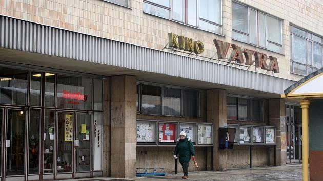 Vsetínské kino Vatra. Ilustrační foto.