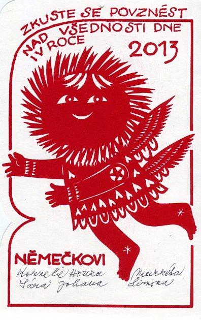 PF 2013 – Novoročenka Kornelie Němečkové.