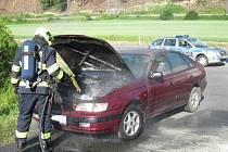 Plameny zničily motor Toyoty
