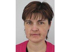 Pohřešovaná Simona Valentová.