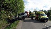 K dopravní nehodě, při které se zranilo šest lidí včetně tří dětí, došlo v úterý krátce před pátou hodinou odpoledne na výpadovce z Rožnova pod Radhoštěm směrem na Frenštát pod Radhoštěm.