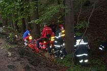 Tragická nehoda motorkáře ve Vekých Karlovicích