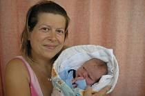 Lenka Navrátilová, Mořkov syn Matěj Matějíček, hmotnost: 3,5 kg, narozen: 7. 8. 2010 v nemocnici ve Valašském Meziříčí