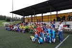 Na Valašsku proběhly netradiční turnaje fotbalových přípravek