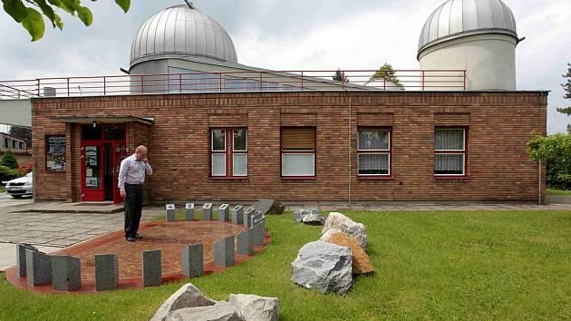 Projekt Brána do vesmíru na hvězdárně ve Valašském Meziříčí.
