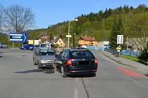 Policisté hledají svědky dopravní nehody, která se stala ve vsetínské místní části Jasenice v pondělí 8. května 2017