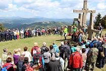 V neděli 14. května 2017 se u památníku Tři kříže na Ztracenci na moravsko-slovenském pomezí opět setkali čeští a slovenští turisté. Jako každý rok zde uctili památku padlých na konci druhé světové války.
