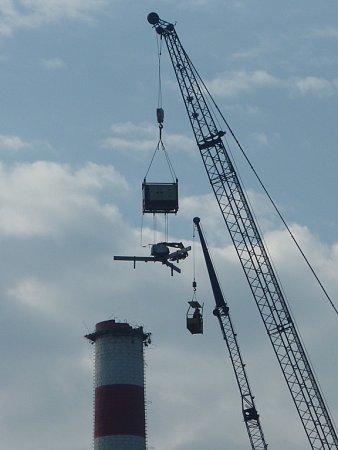 Komín ztavicích pecí ustoupí modernizaci průmyslového areálu.