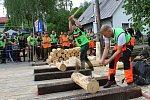 3. ročník dřevorubecké soutěže Prlovský drvař