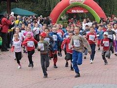 Pátý ročník běžeckých závodů Valachiarun odstartovaly mini běhy.