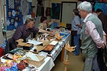Ve středisku volného času Domeček ve Valašském Meziříčí se v pátek a sobotu (22. a 23. května) koná třetí Májový řemeslný trh