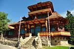 Obnovená chata Libušín na Pustevnách v Beskydech; úterý 28. července 2020