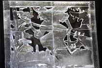 Ledové sochy na Pustevnách. Ilustrační foto