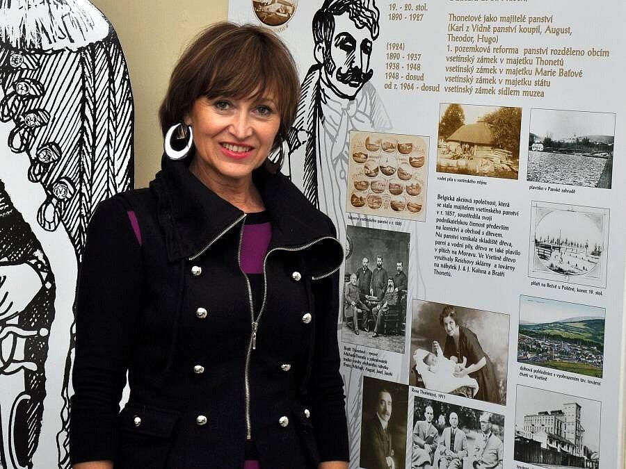 Petra Černocká byla patronkou dobročinné aukce Domov ve vsetínském zámku pořádala Diakonie Vsetín