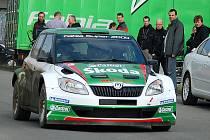 Testování týmu Škoda Motorsport na Valašskou rally.