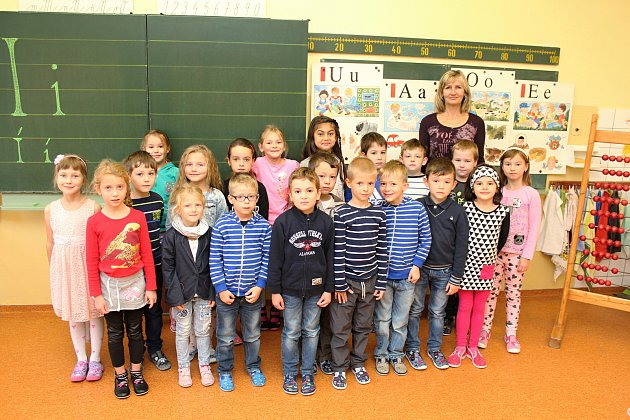 ZŠ Ohrada 1.A, třídní učitelka Monika Ludvová