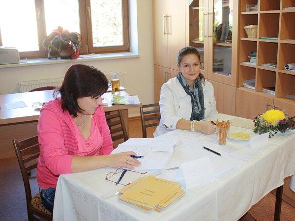 Volební komise ve Střelné