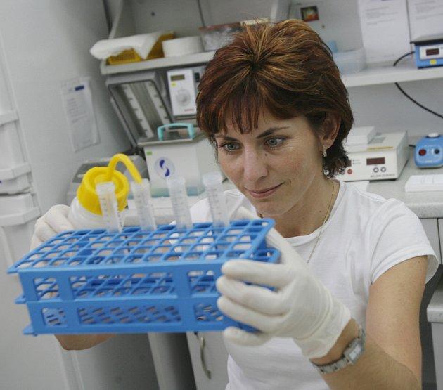 Centrum lékařské genetiky.