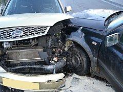 První dopravní nehoda roku 2017 se stala 1. ledna hodinu po poledni v Žerotínově ulici ve Valašském Meziříčí.