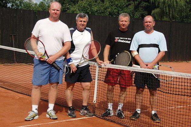 Duo Křesala s Liškou (na snímku zleva) patřilo k hlavním favoritům, ale díky zdravotním problémům jim nakonec patřila jen čtvrtá příčka