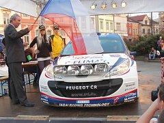 Valašská rally. Ilustrační foto.