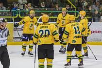 Prvoligoví hokejisté Vsetína. Ilustrační foto