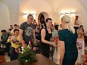 Vítání občánků ve Valašském Meziříčí; středa 13. dubna