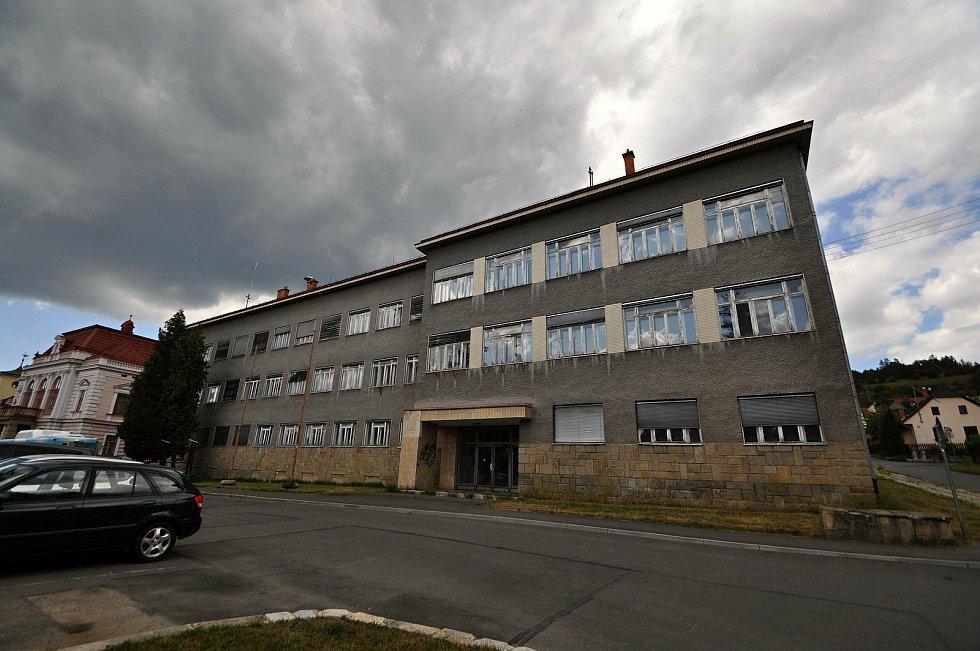 Vsetín - budova bývalého okresního úřadu.