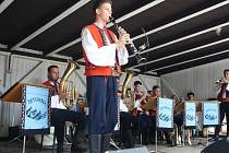 Dechová muzika Kotáranka oslavila v neděli čtyřcátiny.