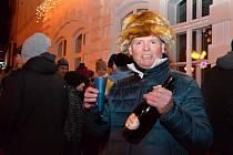 Silvestrovské oslavy ve Valašském Meziříčí v sobotu 31. prosince 2016