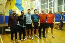 Turnaj ve stolním tenise v Rožnově pod Radhoštěm
